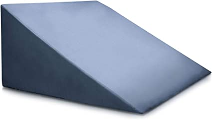 Amazon.com: Bed Back Wedge Pillow - Incline Bed Rest for Sitting ...