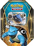 Pokemon Blastoise EX Power Trios Tin Card Game