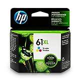 HP 61XL Ink Cartridge Tri-color (CH564WN) for HP Deskjet 1000 1010 1012 1050 1051 1055 1056 1510 1512 1514 1051 2050 2510 2512 2514 2540 2541