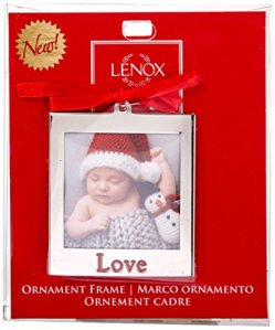 Lenox-870946-Silver-Plate-Love-Frame-Ornament