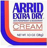 ARRID Extra Dry Anti-Perspirant Deodorant Cream 1 oz (Pack of 6)