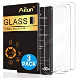 Ailun Screen Protector Compatible with iPhone 6s,iPhone 6,[3 Pack] Tempered Glass Compatible with iPhone 6,iPhone 6s(4.7inch),2.5D Edge,Case Friendly,SIANIA Retail Package