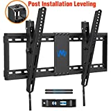 Mounting Dream TV Wall Mount with Post Installation Leveling for Most 37-70' Flat-Panel TVs, Tilting TV Mount up to 132lbs, VESA 600x400mm, Low Profile TV Wall Mount Bracket Fits 16'- 24' Wood Studs