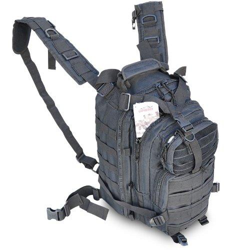Explorer Tactical 72 Hours Combat Rucksack 17 Inch Backpack-Black