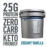Isopure Zero Carb, Keto Friendly Protein Powder, 100% Whey Protein Isolate, Flavor: Creamy Vanilla, 7.5 Pounds