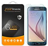 [2-Pack] Supershieldz for Samsung Galaxy S6 Tempered Glass Screen Protector, Anti-Scratch, Bubble Free, Lifetime Replacement
