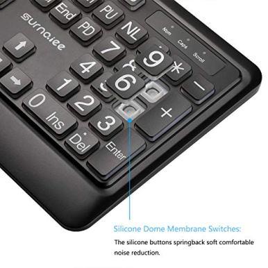 SurnQiee-Large-Font-Print-USB-LED-Backlit-Keyboard-104-Keys-Standard-Full-Size-Computer-Keyboard-White-Backlit