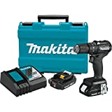 Makita XPH11RB 18V LXT Lithium-Ion Sub-Compact Brushless Cordless 1/2' Hammer Driver-Drill Kit (2.0Ah)