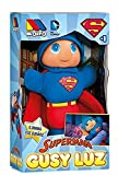 Molto 15869Superman–Snowman Gusy Light That Lights up, 28cm