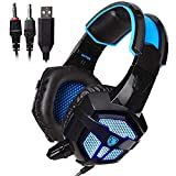 Sades PS4 Gaming Headset for New Box one/ PS4/ PC/iOS/Computer/Smart Phones/Mobiles/Laptop/Mac/Xbox 360 (DPS)
