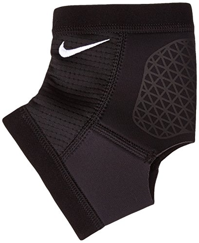 Nike Pro Combat Hyperstrong Ankle Sleeve (L, Black)
