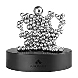 SPOLEY Magnet Desk Decor with A Magnet Base, Magnetic Sculpture Desk Toys for Intelligence Development and Stress Relief