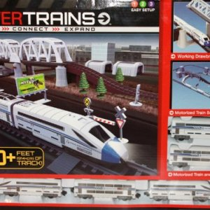 Power Trains Motorized Deluxe City Train Set with 30+ Feet of Track 51adDPCfAmL