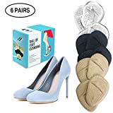 Ball of Foot Cushions 6 Pairs Foot Pads (12 Pieces)   Premium Metatarsal Pads for Women High Heels   Shoe Cushion Inserts for Pain Relief from Neuroma, Callus, and Bunions by BelugaCare