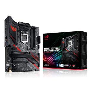 ASUS ROG Strix B460-H Gaming B460 LGA 1200 (Intel 10th Gen) ATX Gaming Motherboard (Intel 1Gb LAN, USB 3.2 Gen 2…