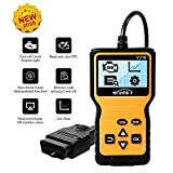 Manfiter OBD2 Scanner Auto Car OBDii 2 Code Reader Diagnostic Scan Tool Check Engine Light Trouble Codes Vehicle
