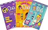 Fashion Diva Dress Up and Shopping Sticker Books for Kids - 3 Books over 1000 stickers