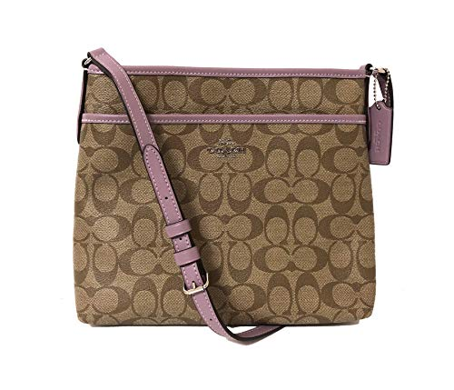 Coach Signature Zip File Crossbody Bag 1 Fashion Online Shop Gifts for her Gifts for him womens full figure