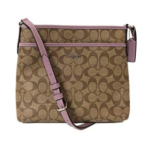 Coach Signature Zip File Crossbody Bag 19 Fashion Online Shop gifts for her gifts for him womens full figure