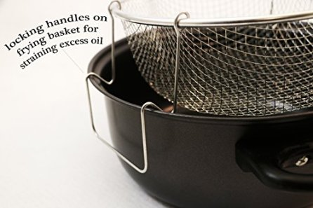 Excelsteel-4-Quart-Carbon-Steel-Non-Stick-All-in-One-Deep-Fryer-and-Dutch-Oven