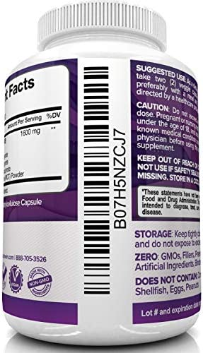 Nutrivein Keto Diet Pills 1600mg - Advanced Ketogenic Diet Supplement - BHB Salts Exogenous Ketones Capsules - Effective Ketosis Best Keto Diet, Mental Focus and Energy, 60 Capsules 8