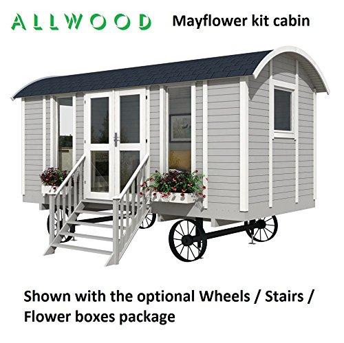Allwood Mayflower | 117 SQF Garden House, Kit Cabin