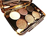 Christmas Gift for Women, Glitter Eyeshadow Palette 6 Colors Sparkle Eyeshadow Shimmer Ultra Long Lasting Makeup Palette for Valentine's Day Wedding Evening Party