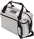 AO Coolers Carbon Soft Cooler with High-Density Insulation, Silver , 24-Can
