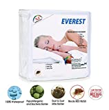 Everest Supply Premium Mattress Encasement 100% Waterproof, Bed Bug Proof, Hypoallergenic Protector, Six Sided Cover, Machine Washable Twin XL size 39x80+12' (fits 12-14' depth)