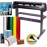 Vinyl Cutter USCutter MH 34in Bundle - Sign Making Kit w/Design & Cut...