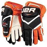 Bauer Vapor APX Junior Gloves - MTO - Blue/Orange - 10' (inch)