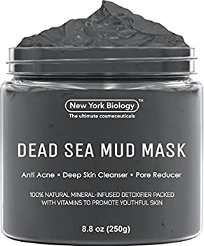 New York Biology Dead Sea Mud Mask is the Ultimate Mineral-Infused, Spa Quality Mud on the Market!!   If You Are Looking for a Mask that Tightens Your Skin Leaving You with a Healthy Looking Glow, Look no Further!!   Noted for its high concentration ...