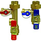Watts LFTWH-FT-HCN Service Valve Kit for Tankless Water Heater