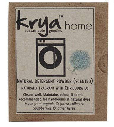 Krya All Natural Scented Detergent Powder - 200 gm