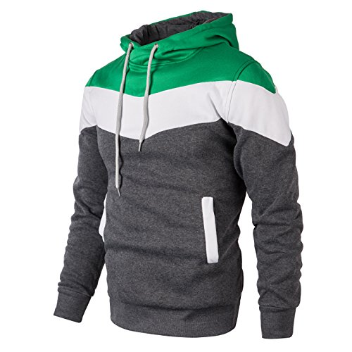 Mooncolour Mens Novelty Color Block Hoodies Cozy Sport Outwear 15 Fashion Online Shop gifts for her gifts for him womens full figure