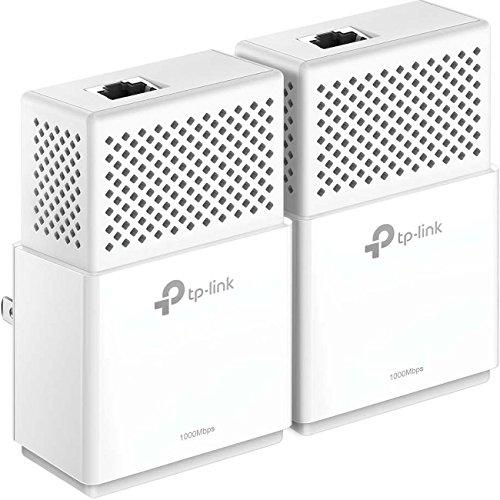 TP-Link AV1000 Gigabit Powerline ethernet Adapter kit, Powerline speeds up to 1000Mbps (TL-PA7010 KIT)