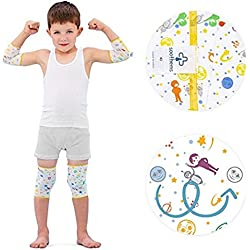 Eczema Relief Wrap Leg & Arm Sleeves for Moderate to Severe Eczema Treatment – Also Used as Wet Wraps – Baby & Kids