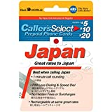 $20 Callers Select Japan Prepaid Phone Card for International Long Distance Calling to Japan