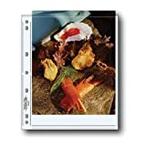 Print File Archival Photo Pages Holds Two 8x10' Prints, Pack of 100