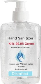 UP8 Hand Sanitizer,Disposable Hand Soap, Long-Lasting Speed Dry Hand Lotion Cleaning Disposable 300ML