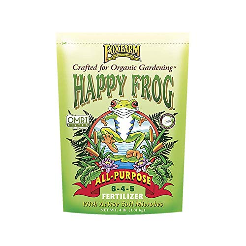 4lbs. Happy Frog All-Purpose Organic Plant Fertilizer - New Package for 2019