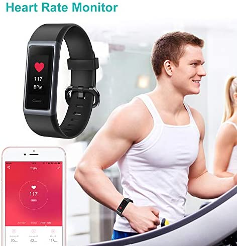Willful Fitness Tracker 2020 New Version IP68 Waterproof, Fitness Watch Heart Rate Monitor with Calories/Step Counter Sleep Tracker Stopwatch Health Tracker Fit Watch for Men Women Kids 4