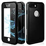 IP7+ Plus Waterproof Case | Underwater Full Body Snow-Proof Shock-Proof Dirt-Proof Hard Cover for IP7 Plus(5.5'') |Touch ID Available | Access to All Functions
