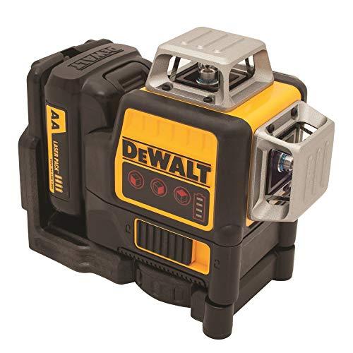 DEWALT 12V MAX Line Laser, 3 x 360 Degree, Red (DW089LR)