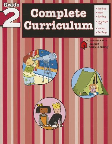 Complete Curriculum: Grade 2 (Flash Kids Harcourt Family Learning)