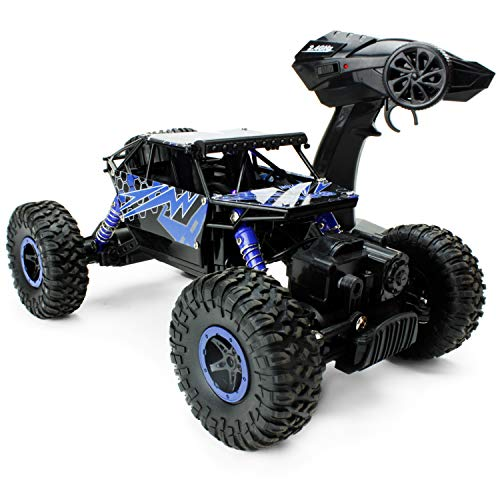 Boley 2099 - Lightning Raider - Radio Control, 4-Wheel Drive, All-Terrain Climber - Action-Packed RC Car Toy for Boys and Girls - Durable, Easy to Control - Perfect for Gifts and Party Favors!