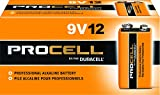 Duracell PC1604BKD09 Procell Alkaline-Manganese Dioxide Battery, 9V (Case of 72)
