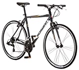 Schwinn Volare 1200 Road Bike, 700c/28 inch wheel size, Grey Gray, fitness bicycle, 53cm/Medium Frame Size