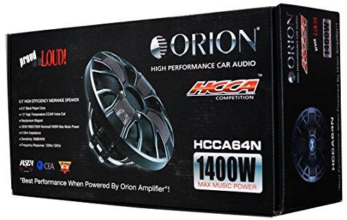 Orion HCCA64N 6.5' High Performance Speaker HCCA Series (PAIR)