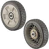 Honda 42710-VE2-M02ZE Rear Wheel Assembly, Pack Of 2